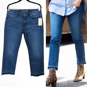 Michael Kors Released Hem Mid-rise Ankle Jeans 8